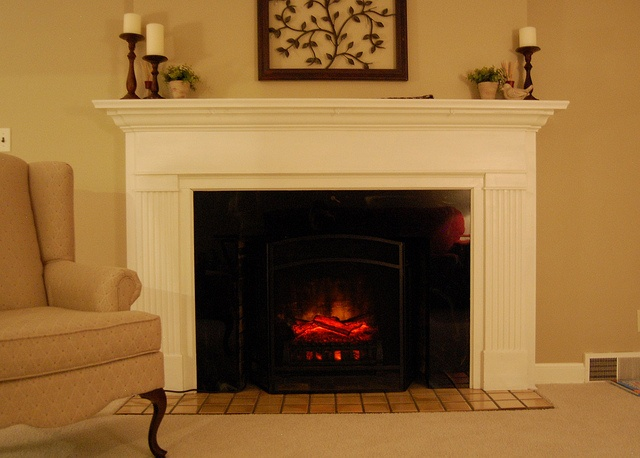 50 Best Electric Fireplaces In Real Homes Images On Pinterest