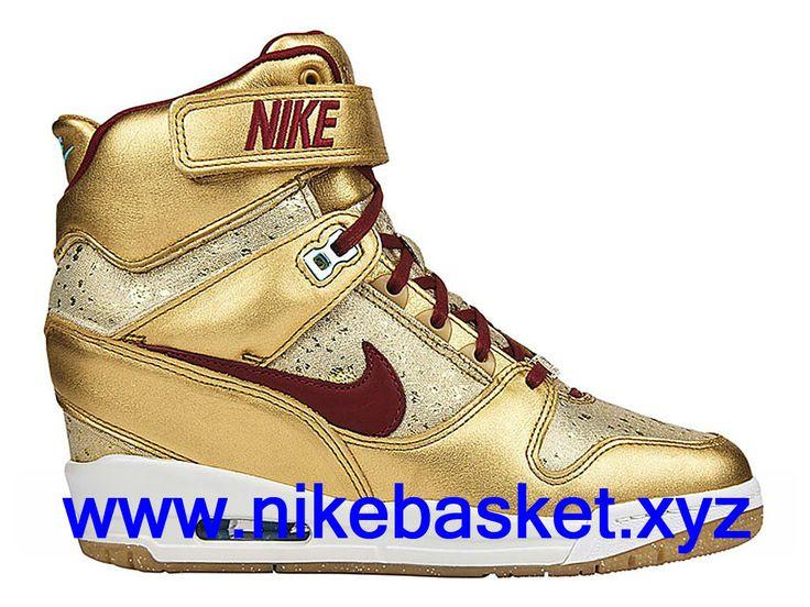 Nike Revolution Sky Hi BHM Femme chaussures pas cher course Or 649460-700-1609230137 - Chaussures de basket Nike Offres Site | nikebasket.xyz