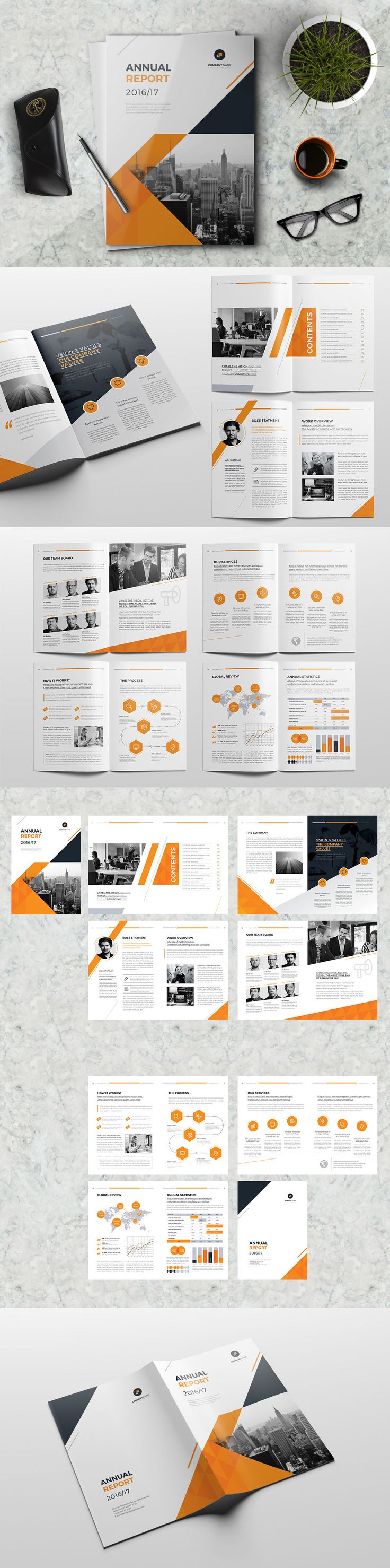 Best Images About Annual Report On   UxUi Designer