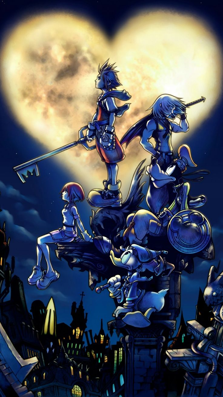 Roxas Kingdom Hearts Background Image Is Best Wallpaper on
