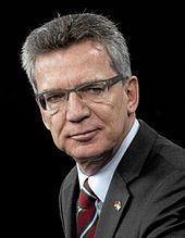 Thomas de Maziere - Innenminister