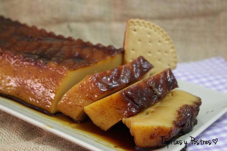 Flan de galletas | Cocina