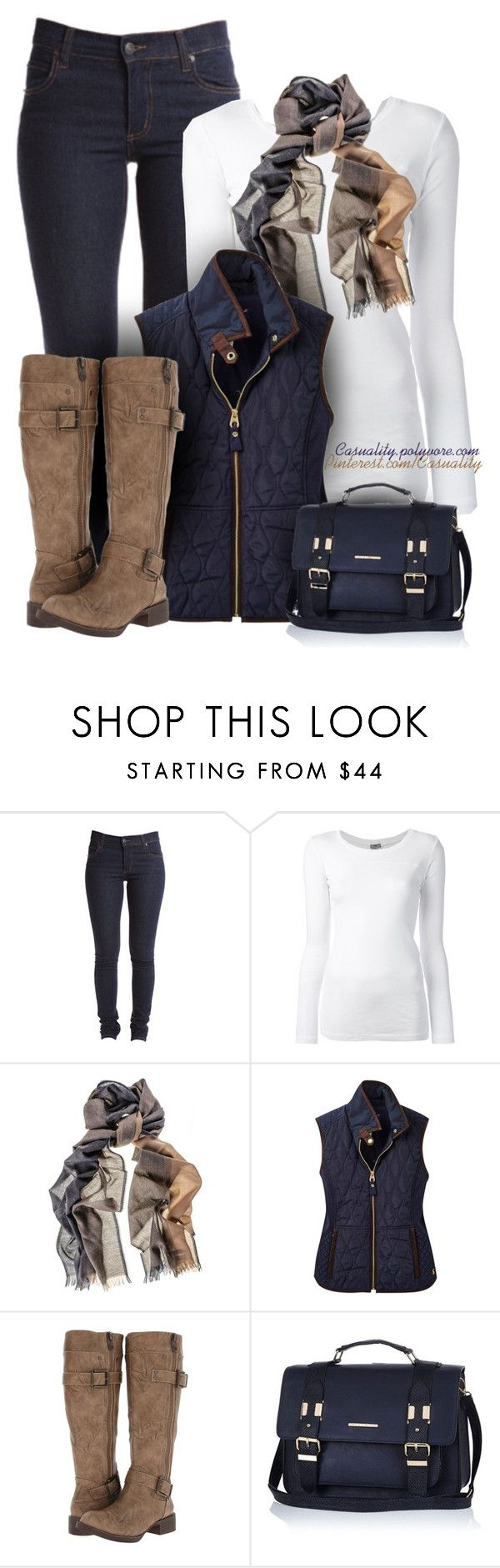 """""""Untitled #1545"""" by casuality ❤ liked on Polyvore featuring Cheap Monday, KristenseN du Nord, Joules, Blowfish and River Island"""
