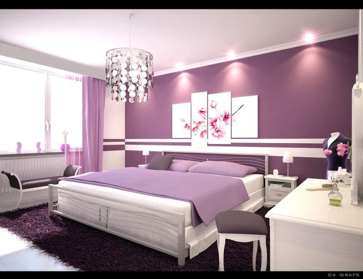 Chambre à coucher aux couleurs tendance déco 2014