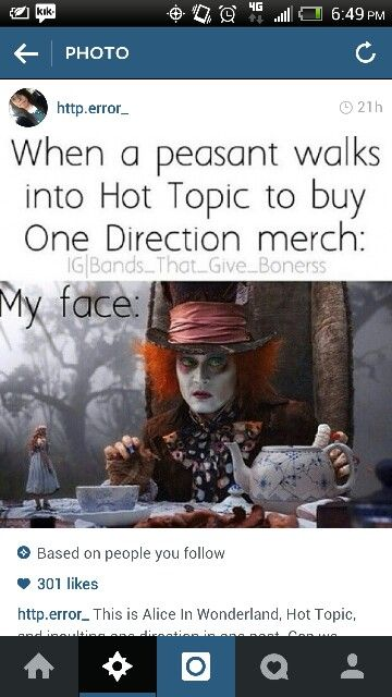 I don't think pop bands should be allowed to sell merch there.