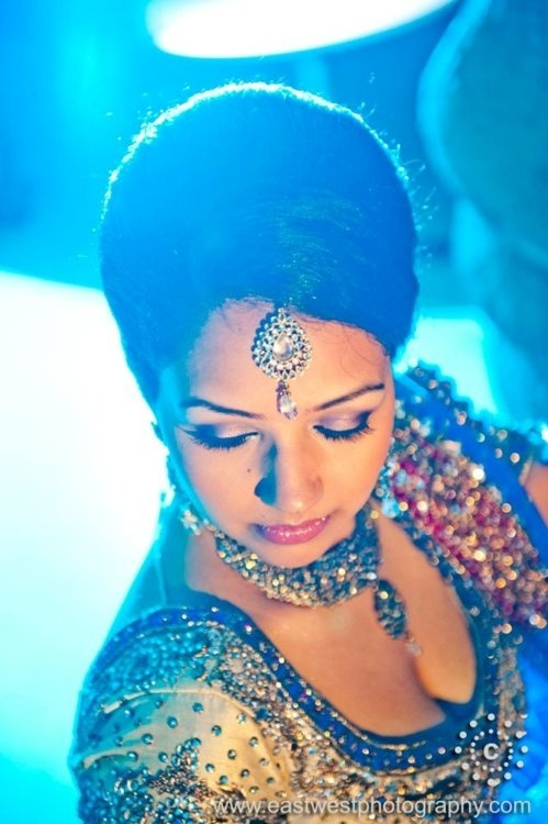 indian bridal jewelry and makeup