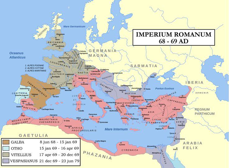 IMPERIUM ROMANUM 68-69 A.D.