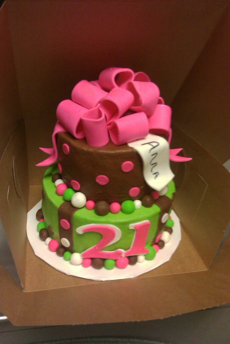 21st Birthday Cake, it even has my name on it :)