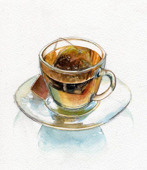 Teapot and hot tea Clip Art | k10358861 | Fotosearch |Hot Tea Art