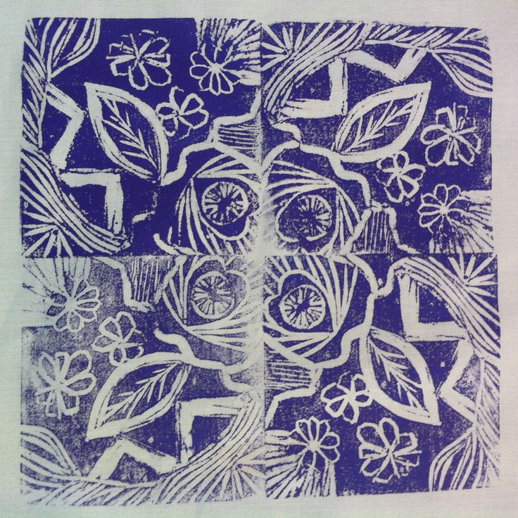 #dyeandprints Learn how to carve your own hand made stamps for printing.