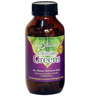 Ultimate Greens Capsules – Lifestream – 120 Capsules   Shop New Zealand