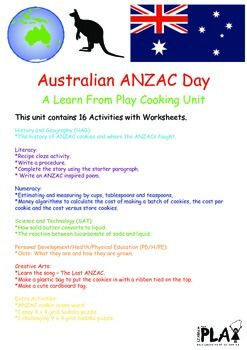 This+multi-level+Learn+From+Play+unit+has+everything+you+need+to+teach+your+students+about+the+Australian+and+New+Zealand+Army+Corp+in+World+War+1.++It+includes+16+activities+with+worksheets+across+all+Key+Learning+Areas+and+can+be+used+for+students+from+Kindergarten+to+Year+6+with+almost+no+preparation+or+adaption+required.