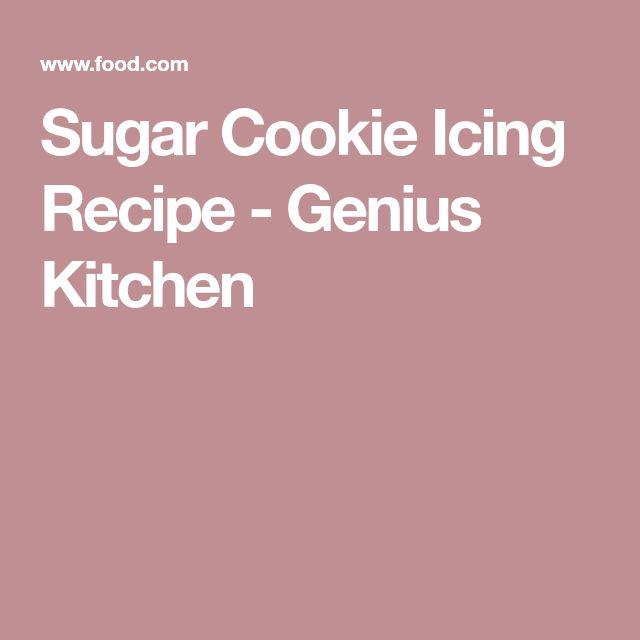 Sugar Cookie Icing Recipe - Genius Kitchen