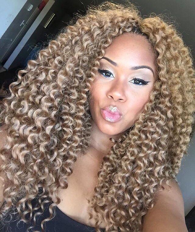 Styles Iamnubian Nyc Blonde 27 Color Crochet Twist