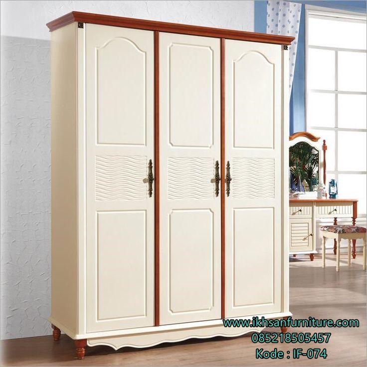 JualLemari Pakaian Pintu 3 Minimalis Terbaru Lemari Pakaian Pintu 3…