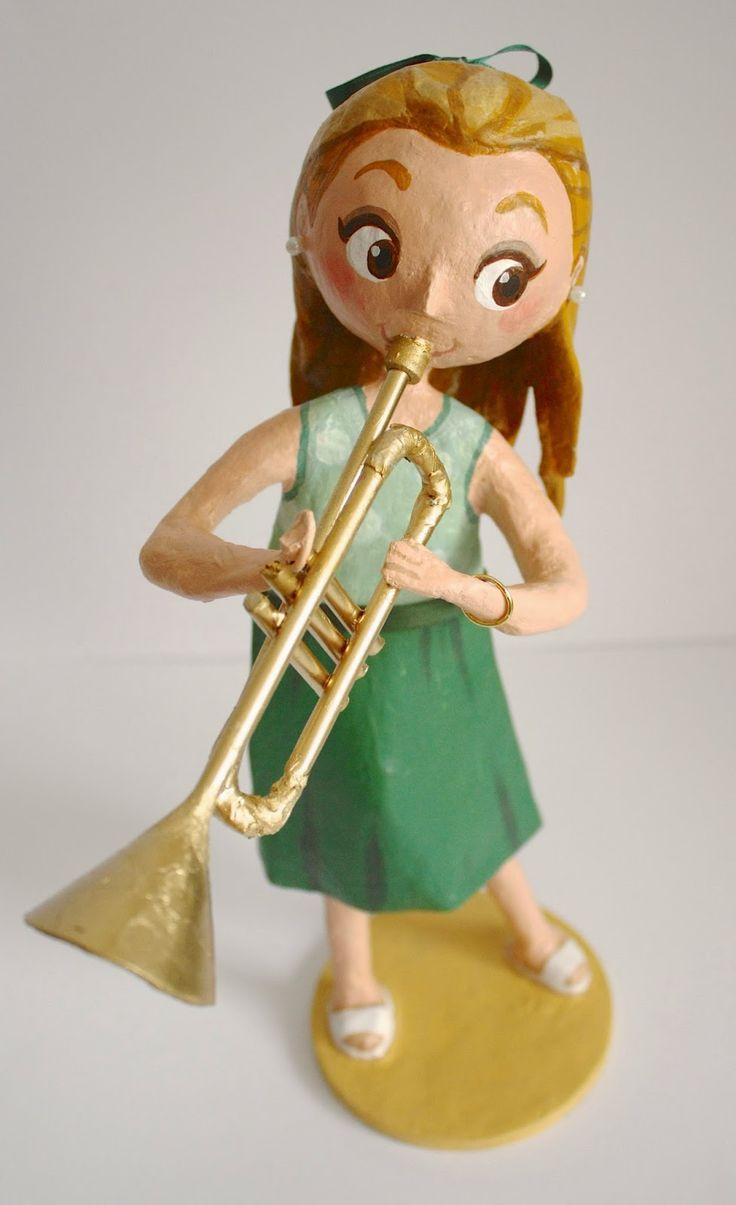 Amandadas: Trompetista