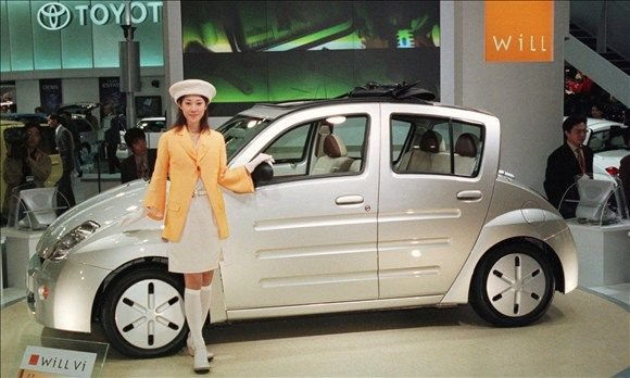 Toyota WiLL Vi at the 33rd Motor Show in Tokyo, Japan