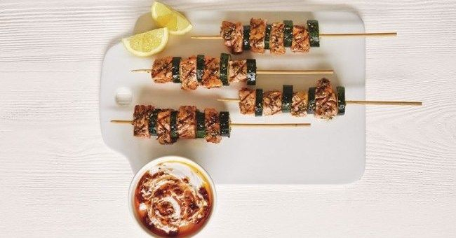 ... atar salmon more skewer recipes atar salmon salmon skewers skewers