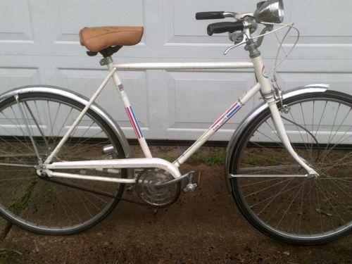 Vintage White Free Spirit Sears Roebuck Ted Williams Mens Bicycle