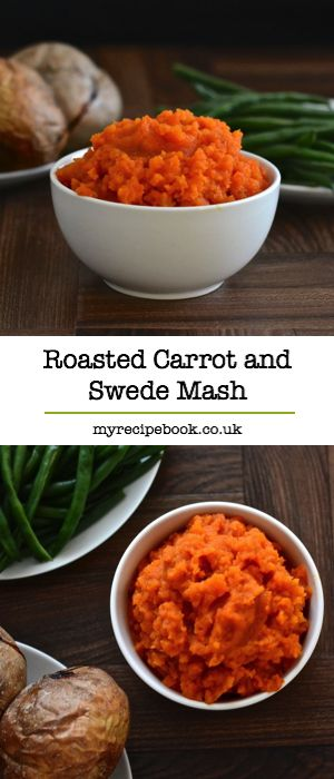 Roasting the vegetables really brings out the flavour in this carrot and swede mash recipe. The perfect accompaniment to a roast dinner and two of your five-a-day. Gluten-free and vegan.