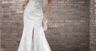 Vintage Wedding Dresses Sweetheart Neckline Design