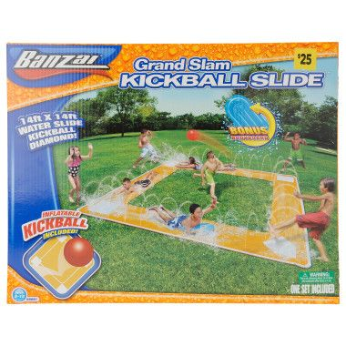 Grand Slam Kickball Slip n Slide - Dollar General