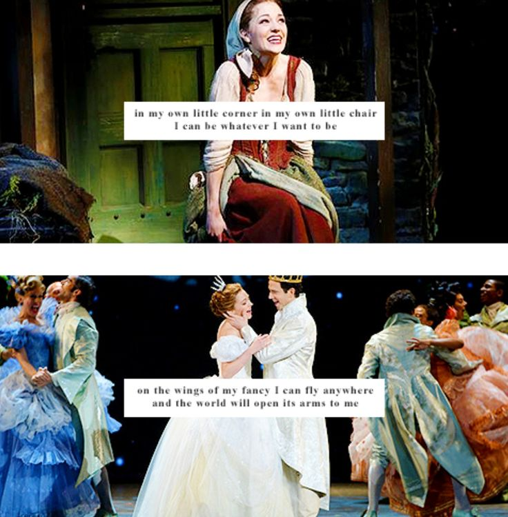 In My Own Little Corner - Laura Osnes, Cinderella on Broadway!
