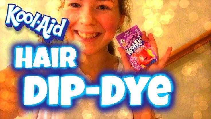 Purple Kool Aid Dip Dye!!