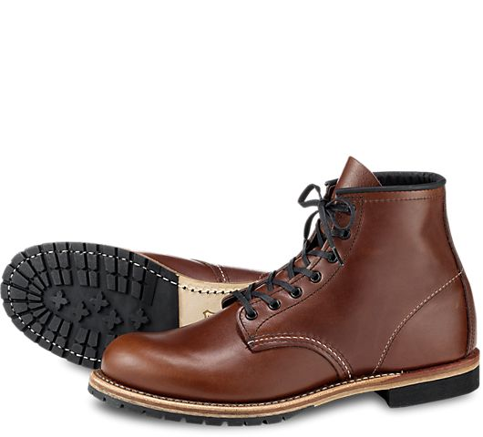 Part of the Beckman collection, the 9016 is a 6-Inch, round toe style boot made from our exclusive Cigar Featherstone dress leather. Classic in look, a bit of polish keeps them looking sharp.