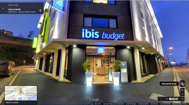 Création de la visite virtuelle de l'hôtel Ibis Styles au port de Brest