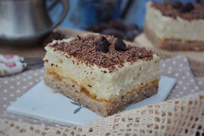 Troll a konyhámban: Grízkrémes szelet sütés nélkül - vegán, paleo