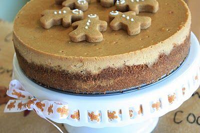 Gingerbread Cheesecake: Holiday, Food, Recipes, Gingerbread Cheesecake, Cheesecake Recipe, Desserts Treats Sweets, Christmas Treats, Munchkin Munchies