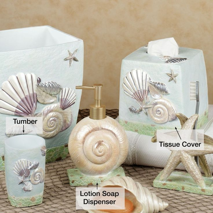 Beach Home Decor Ideas: Best 25+ Seashell Bathroom Decor Ideas On Pinterest