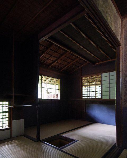 Tea room at Koto-in, Kyoto, Japan