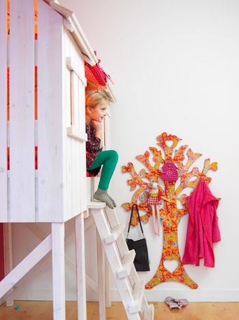 Boomhut Kids Factory voor meisjeskamer - vtwonen heel gaaf!