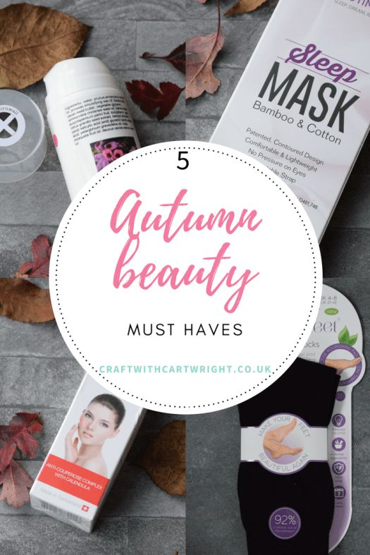 With the onset of Autumn, my skin feels like it has had a battering. Too much sun over the summer in combination with the heating coming on has left me feeling like a dried up leaf. So before you hide yourself under a cosy jumper and 100 denier tights for hibernation. Why not try out my five Autumn Beauty must haves.
