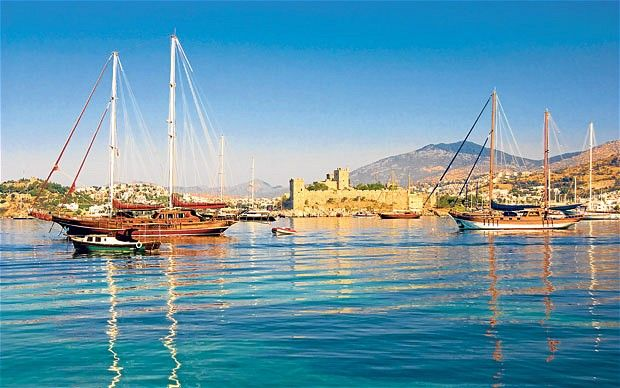 The harbour at Bodrum