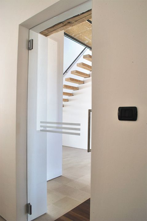 Architecture. mediterranean house renovation. A project by OfficineMultiplo. #scala #staircase #stone pietra leccese