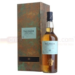 Talisker 1977 35 year old is the 16th entry for Talisker in the Diageo Special Release and it is the oldest bottling offered by the distillery so far. Distilled in 1977 and bottles in 2012, this is a limited edition whisky with only 3090 units being made.