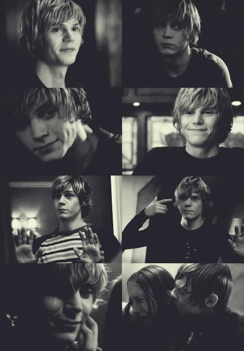 Sorry I'm actually crazy everyone. Tate Langdon (Evan Peters) American Horror Story. I am in love with tate. no joke