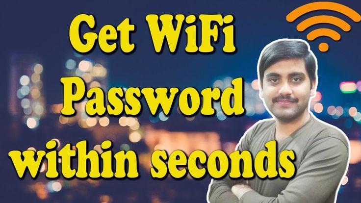 How to Find WiFi Password in Hindi / Urdu | 100% Working