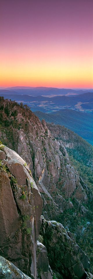 Afterglow, Mount Buffalo Victoria - Australia