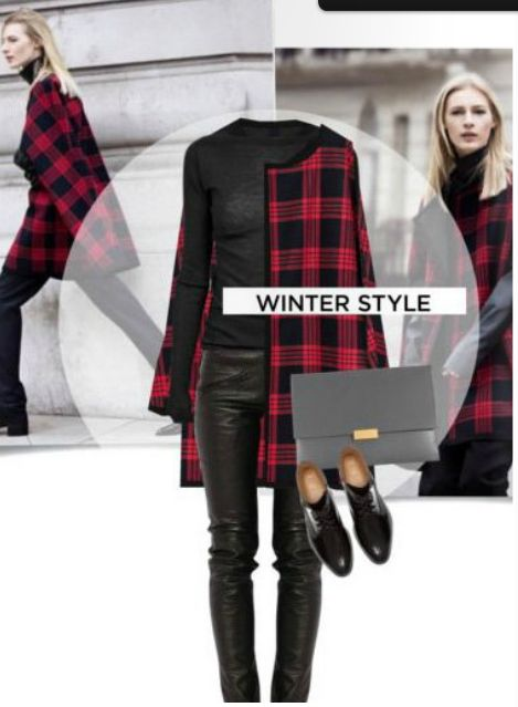 This winter is all about the tartan.