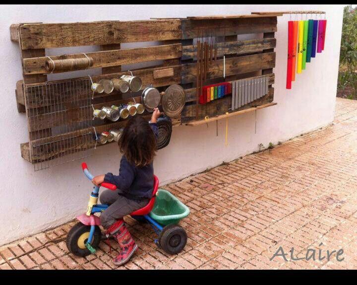 Instrumentos de musica para el patio