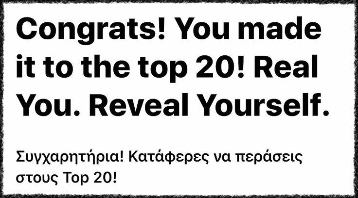 Μόλις ενημερωθήκαμε, πως περάσαμε στους Top 20 Finalist του διαγωνισμού της Media Markt, για νέους Youtubers! Θέλουμε να ευχαριστήσουμε όλους εσάς που μας στηρίξατε όλες αυτές τις μέρες, και που πιστέψατε σε εμάς! Ευχαριστούμε τους φίλους Youtubers που ήταν δίπλα μας εμπράκτως! Και τέλος ευχαριστούμε για την υπομονή σας για τα άπειρα post που κάναμε όλες αυτές τις μέρες! Συγχαρητήρια σε όλα τα παιδιά που συνεχίζουν στην επόμενη φάςη, και καλή συνέχεια στα παιδιά που δεν τα καταφεραν…