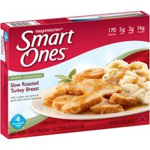 The best Weight Watchers Smart Ones meal for only 4 points. Yum! Have 2 if ya need to!
