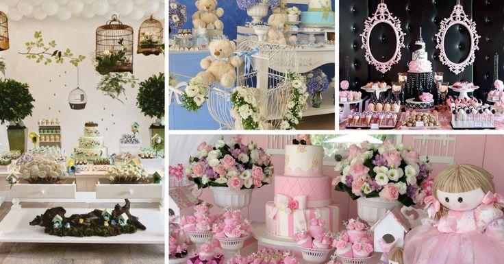As festas com estilo provençal são uma das novidades em termos de decoração de festas mais utilizadas. Inspirada num estilo colonial com muitos detalhes de