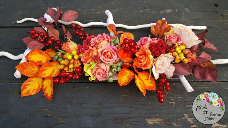 Kwiaty, liście z foamiranu  Dekoracje z foamiranu