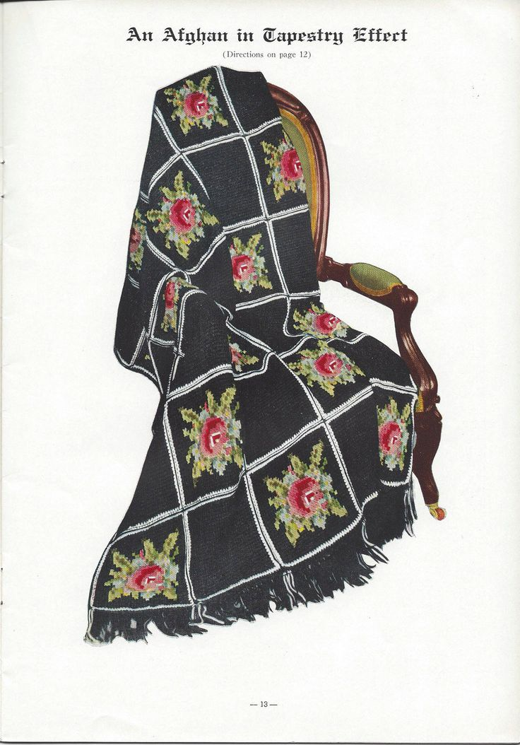 💐Crochê Afegão Columbia Padrão Ponto Cruz Flores itens decorativos Criações Quadrado -  /  💐 Crocheting Standard Afghan Cross Stitch Flowers Columbia decorative items Creations Square -
