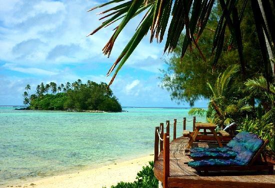 Muri beach resort,